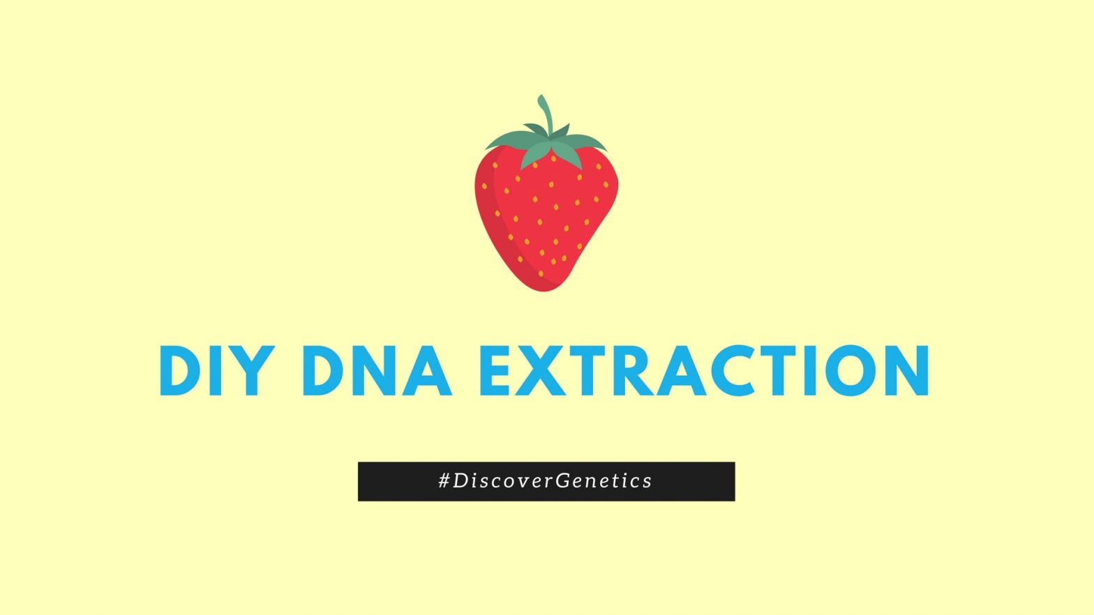 DIY DNA Extraction
