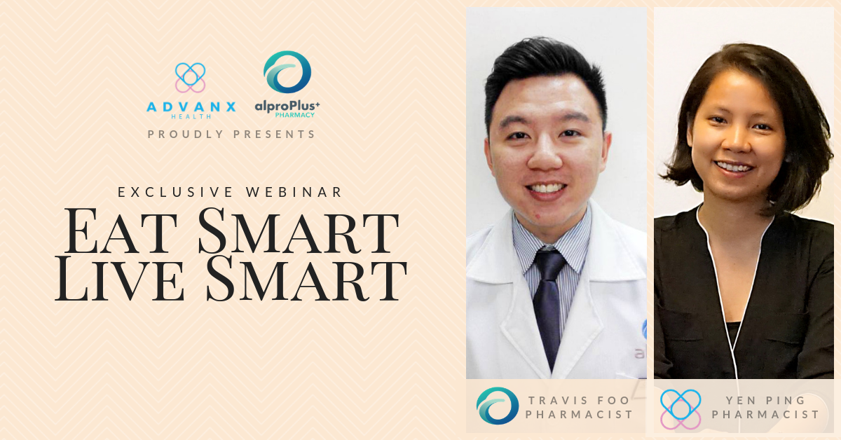 Advanx Health Webinar Eat Smart Live Smart