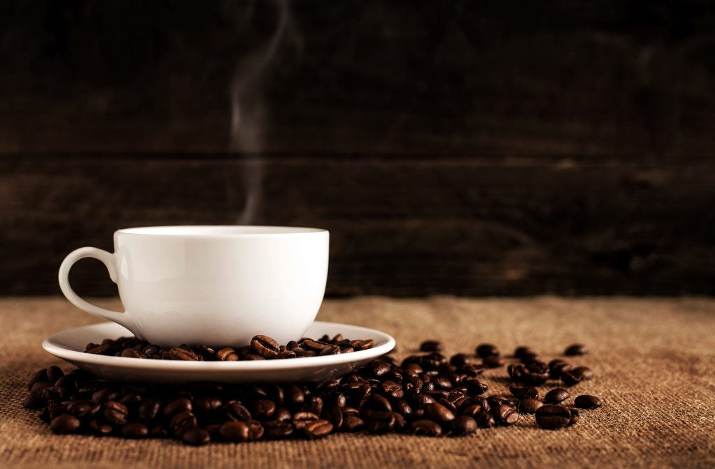 A cup of coffee is the appropriate amount for certain people depending on their caffeine metabolism rate.