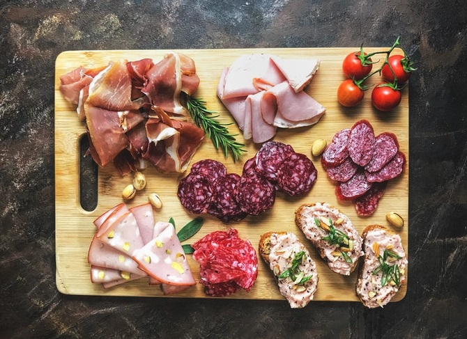 An assorted Options of Delicious Meats
