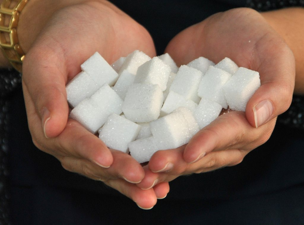 WHO recommends 5 to 10 teaspoons of sugar daily