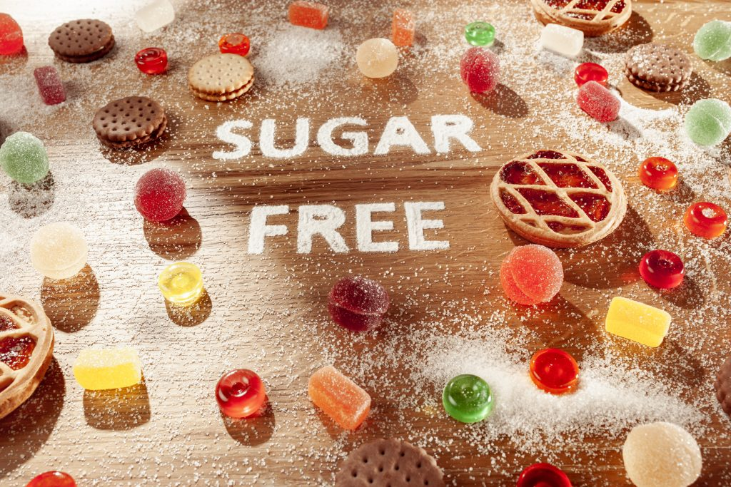 Sugar alcohols are often found in sugar-free products