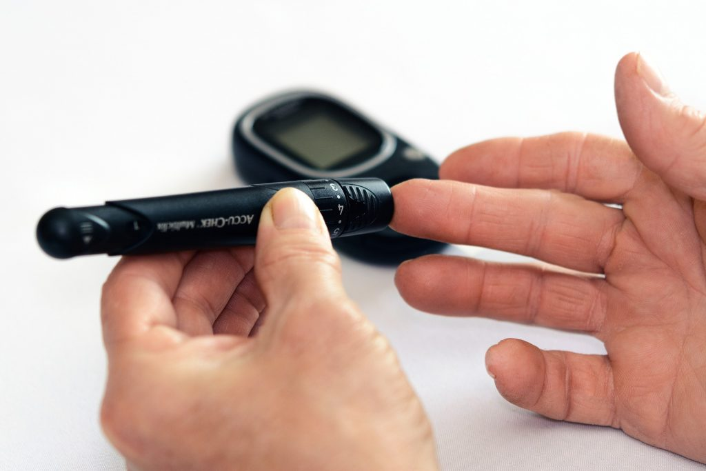 Monitor blood glucose levels daily