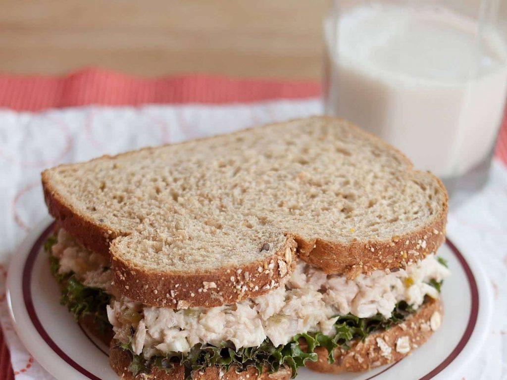 Calcium deficiency: Tuna, cheese and milk are high in calcium.